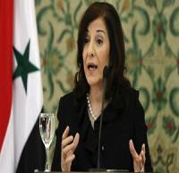 بثینه شعبان: رسانههای غربی عمداً حوادث سوریه را تحریف میکنند