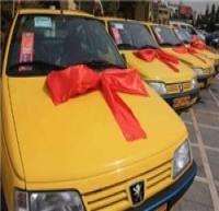 42 دستگاه تاکسی پژو GLX و سمند EF7 صفر جایگزین تاکسیهای فرسوده شد