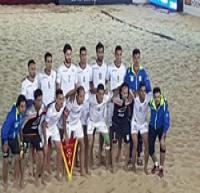 ساحلیبازان ایران با شکست مقابل برزیل نایب قهرمان شدند