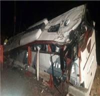 آمار دقیق کشته شدگان اتوبوس زائران یزدی 26 نفر است