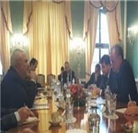 دیدار ظریف با رئیسجمهور اسلواکی