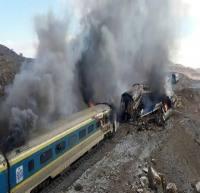 انتقال پیکر جانباختگان حادثه دو قطار مسافربری به تبریز برای انجام آزمایش DNA
