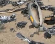 فیلم/ پهپاد صهیونیستی سرنگون شده توسط سپاه پاسداران