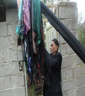 مراسم سنتی علم گردش در روستای سنهکوه شهرستان میاندورود