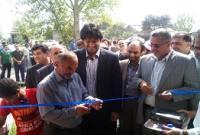 افتتاح چهار طرح خدماتی، اقتصادی و تولیدی در میاندورود+عکس