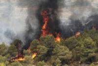 آتش سوزی در جنگل میاندورود+ تکمیلی