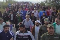 گزارش تصویری از پیاده روی خانوادگی در میاندورود
