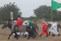 گزارش تصویری از بازسازی واقعه غدیر خم در میاندورود