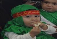 گزارش تصویری از مراسم شیرخوارگان حسینی در شهر سورک