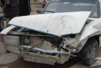 تصادف در جاده گهرباران+ عکس