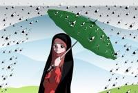 چادر، زن را در برابر نگاه های هرزه محافظت می کند