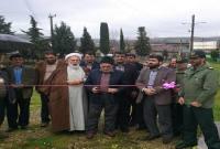 افتتاح و غبارروبی گلزار شهدا روستای دارابکلا