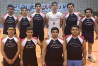 تیم شهدای میاندورود قهرمان مسابقات والیبال شد