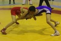 مسابقات کشتی لیگ دسته یک نوجوانان استان در میاندورود