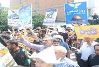 مردم و مسئولین میاندورودی در راهپیمایی روز قدس چه گفتند