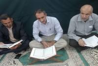برگزاری محفل انس با قرآن در مسجد جامع شهر سورک