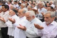 نماز عید سعید فطر در شهر سورک