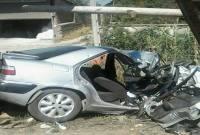 منحرف شدن زانتیا باعث کشته شدن یک نفر شد+ عکس