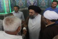 آخرین نماز جمعه میاندورود با حضور حجتالاسلام رسولی به عنوان امام جمعه