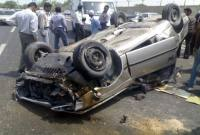 واژگونی خودرو در جاده گهرباران 2 کشته برجای گذاشت