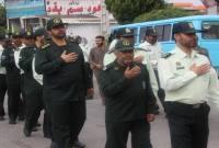 دستهروی و عزاداری نیروهای مسلح میاندورود در شهر سورک