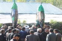 مراسم سوال و جواب در روز تاسوعا و عاشورا در روستاهای سنهکوه و وارمی شهرستان میاندورود+ عکس