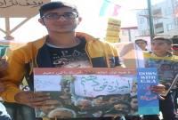 راهپیمایی 13 آبان در شهرستان میاندورود