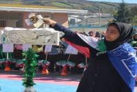 افتتاحیه دومین دوره المپیاد ورزشی درون مدرسهای در میاندورود برگزار شد