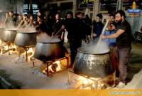 برگزاری مراسم حلیمپزان در میاندورود