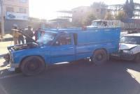 تصادف 6 دستگاه خودرو در شهر سورک