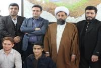 دیدار روسای هیئتهای ورزشی میاندورود با مدیرکل ورزش و جوانان و امام جمعه میاندورود