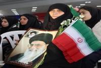 مراسم استقبال نمادین از ورود حضرت امام(ره) به فرودگاه در میاندورود