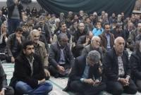 مراسم تقدیر دکتر یوسف نژاد از مردم سورک