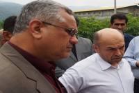 بازدید فرماندار و مدیرعامل شرکت گاز استان از روستاهای بالادست+ تصاویر