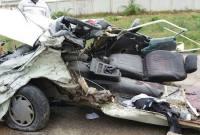 تصادف مرگبار در جاده گهرباران+ تصاویر