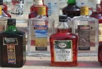 کشف 1200 لیتر مشروبات الکلی همراه با کارگاه ساخت و پلمپ+ عکس