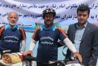 کاروان دوچرخه سواری حمایت از بیماران خاص به میاندورود رسید+ تصاویر