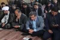 برگزاری زیارت عاشورا در شهرداری سورک با حضور مدیران ادارت