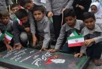 زیارت قبور شهدا توسط دانشآموزان مدرسه شهید تقوی لالیم