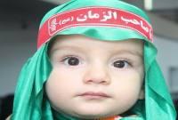 مراسم شیرخوارگان حسینی در شهر سورک برگزار شد