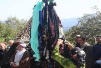 مراسم علم گردش در روستای سنهکوه