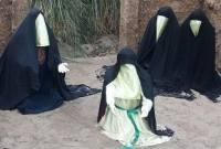 برپایی نمایشگاه واقعه سرخ در روستای بادله