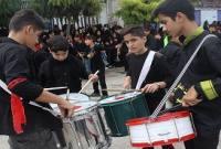 مراسم دستهروی و عزاداری در روز تاسوعای حسینی روستا اسرم (2)