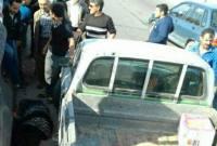 تصادف مزدا با عابر پیاده جان یک زن را در بادله گرفت