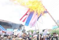 راهپیمایی یومالله 13 آبان در میاندورود