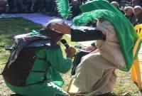 برگزاری مراسم شکرگذاری باعث افزایش خیر و برکت در کار اهالی روستا میشود
