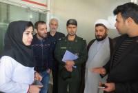 بازدید کانون بسیج مهندسین میاندورود از شرکت لاله و فولاد البرز ایرانیان