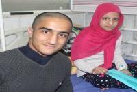 دیدار امیر پرسته قهرمان کشتی نوجوانان جهان با کودکان سرطانی