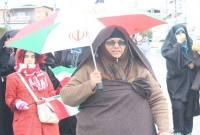 خروش مردم میاندورود در راهپیمایی 22 بهمن