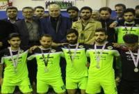 شاهد اسلامآباد نایب قهرمان لیگ برتر فوتسال مازندران شد